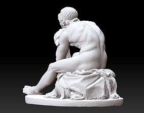 thor statue 3D print model