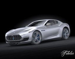 Maserati Alfieri 3D Model