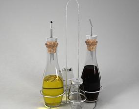 3D model Oil and Vinegar Stand