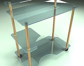 3D Free Glass Table