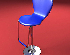 3D Blue Chair
