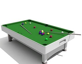 Snooker Table 3D