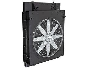 Engine Cooling System Radiator 3D