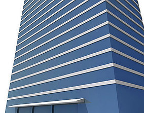3D asset Tall Building 121