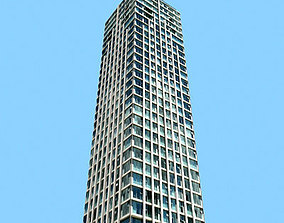 Tall office Building 115 3D asset