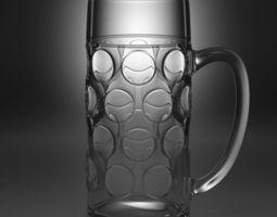 3D model beer glass type1