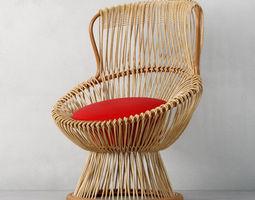 armchair 08 am135 3d