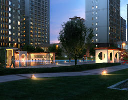 High-end residential model