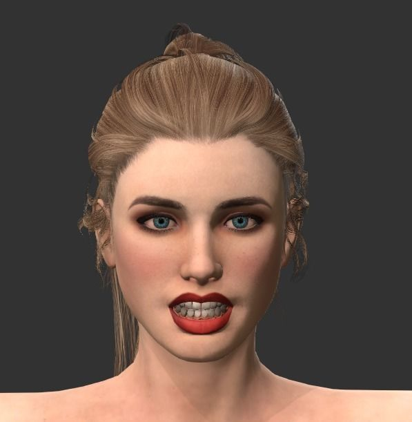 Realistic female 01