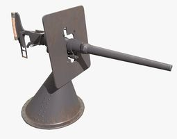 Gun Gochich 47 mm 3D asset