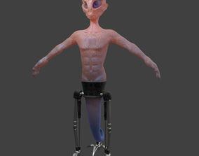 Alien fi 3D model