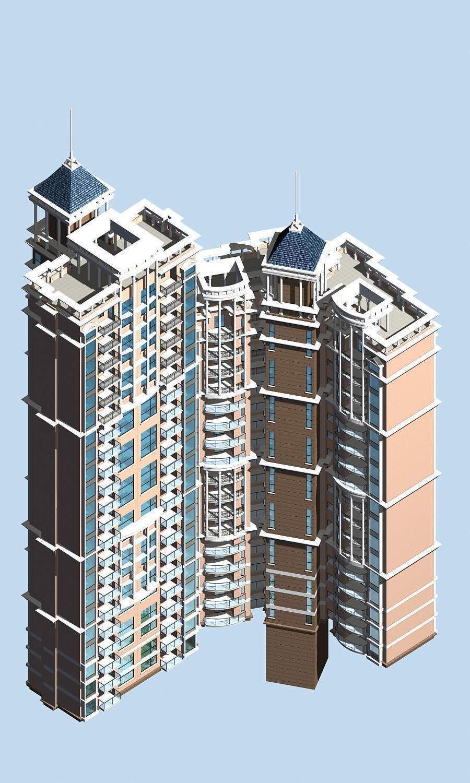 Urban Design Office Building 3d Model Max