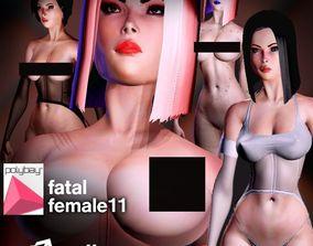 Fatal Female 011 for Unity 3D asset