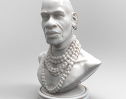 The Nubian Printable Bust