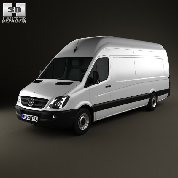Mercedes-Benz Sprinter PanelVan Extralong 2011