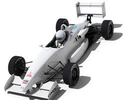 3d usf 2000 formula race car