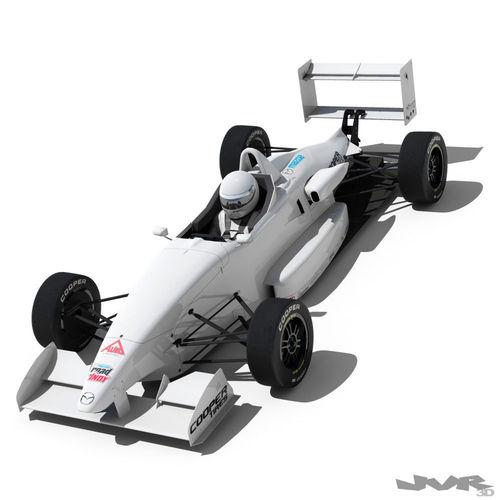usf 2000 formula race car 3d model max obj 3ds fbx 1