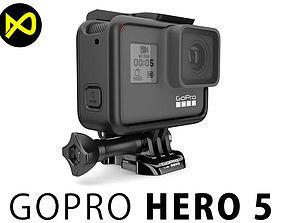 GoPro Hero 5 Set 3D model