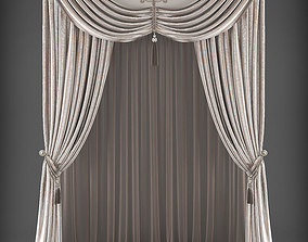 low-poly Curtain 3D model 304