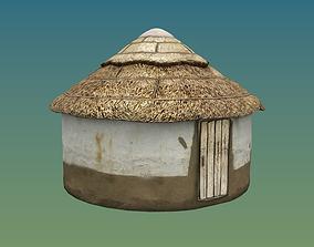 Hut Medieval 3D model