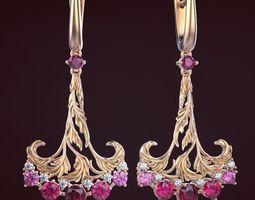 earrings Earrings 4 3D printable model