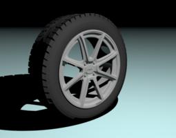 Fox FX2 wheel 3D model