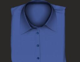folded man shirt 3D model