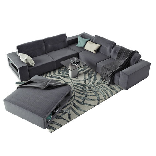 boconcept hampton corner sofa in fabric 3d model max obj mtl fbx 1