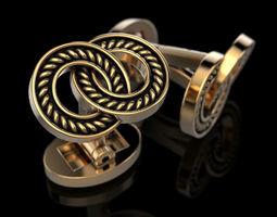 Cufflinks 3D printable model