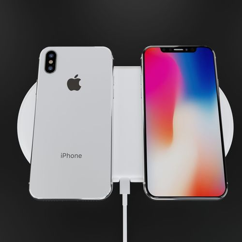 27cf865a6 apple iphone x silver and space gray high poly model 3d model max obj mtl  fbx ...