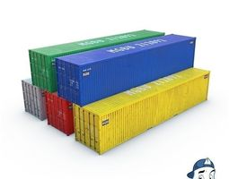 3D model Container 40ft