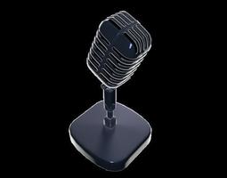 electronics 3D Retro microphone