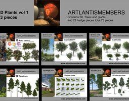 plant collection 3d models2