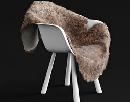 sheepskin HQ 3D model