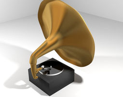 Phonograph - Type 1 3D model