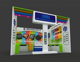 Booth - Area - 6X6-3DMAX2009-01