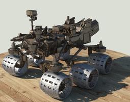 Mars Curiosity rover 3D