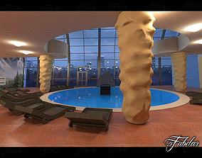 Swimming pool 07 3D
