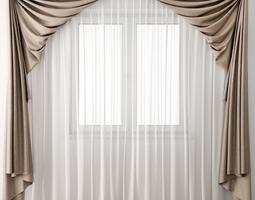 3D model Curtain19