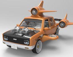 Fiat 128 turbo 3D