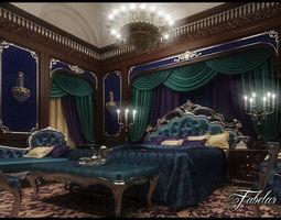 3D model Bedroom 99