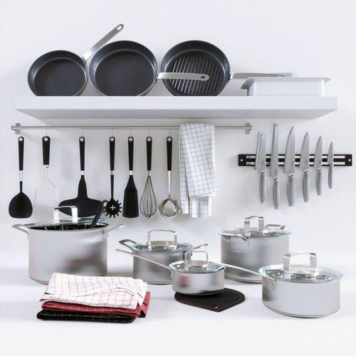 365 cookware collection 3d model max obj fbx mtl 1