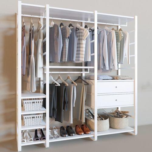 elvarli collection wardrobe corona 3d model max obj mtl fbx 1