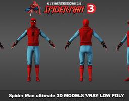 Spider-Man Ultimate Comics 3D model