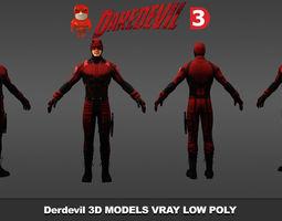 Daredevil Netflix MH 3D model