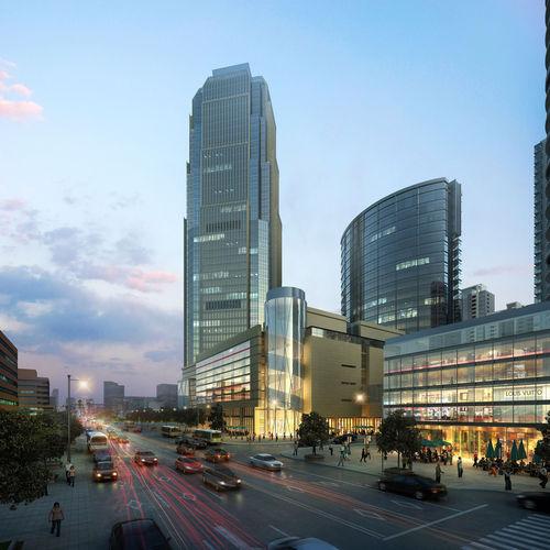 city scene 3d model max 1
