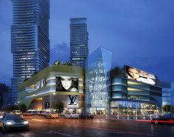 3d model city scene 009