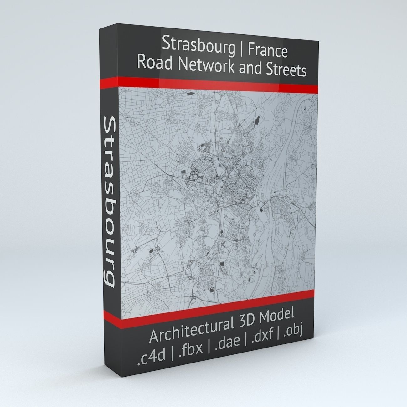Strasbourg Road Network and Streets