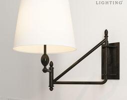 Paulo Small Bracket Light 3D model