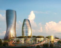 3d model city scene 014